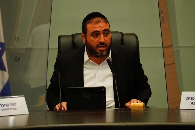 ח''כ משה ארבל (צילום: דוברות הכנסת, עדינה ולמן)