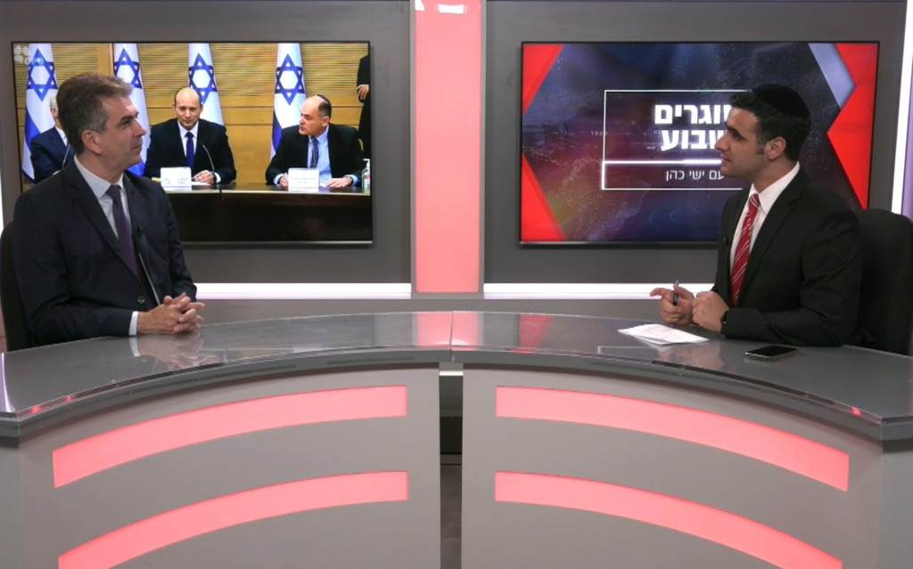 ח''כ אלי כהן בריאיון לישי כהן