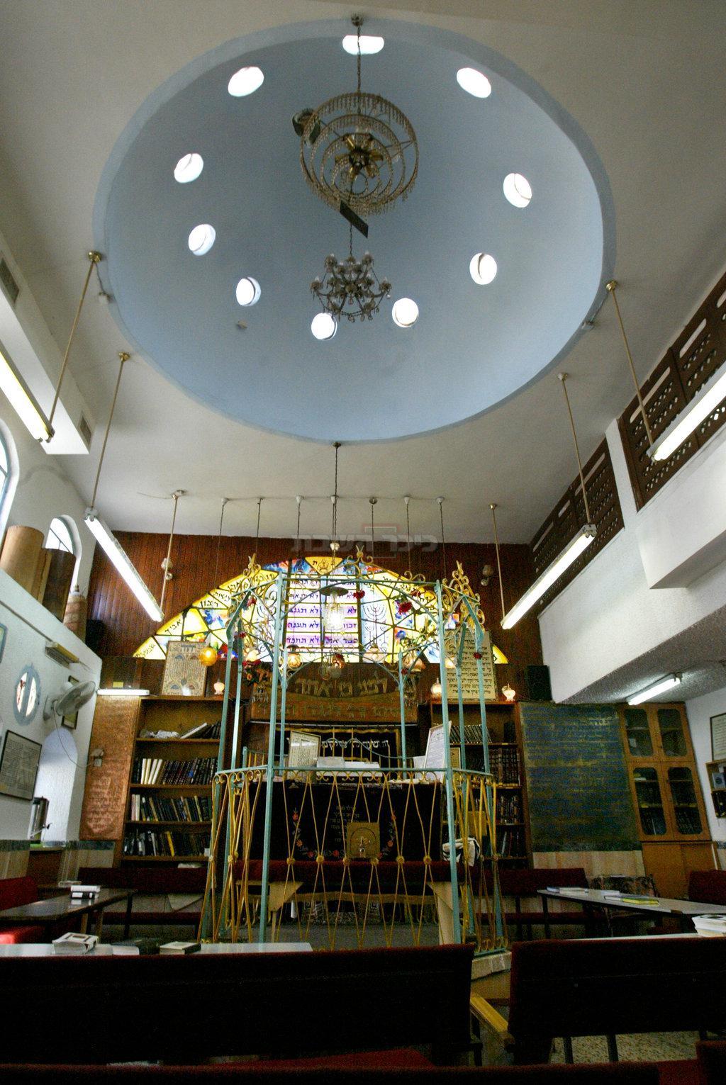 בית הכנסת 'מוסאיוף'. ארכיון (צילום: Olivier Fitoussi /FLASH90)