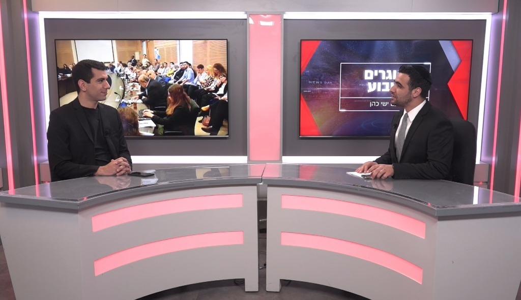 העיתונאי סולימאן מסוודה בריאיון לישי כהן