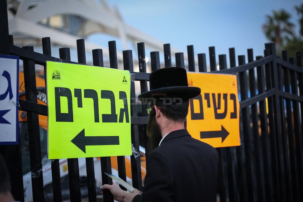 הכניסה לציון השל''ה (צילום: דוד כהן, פלאש 90)