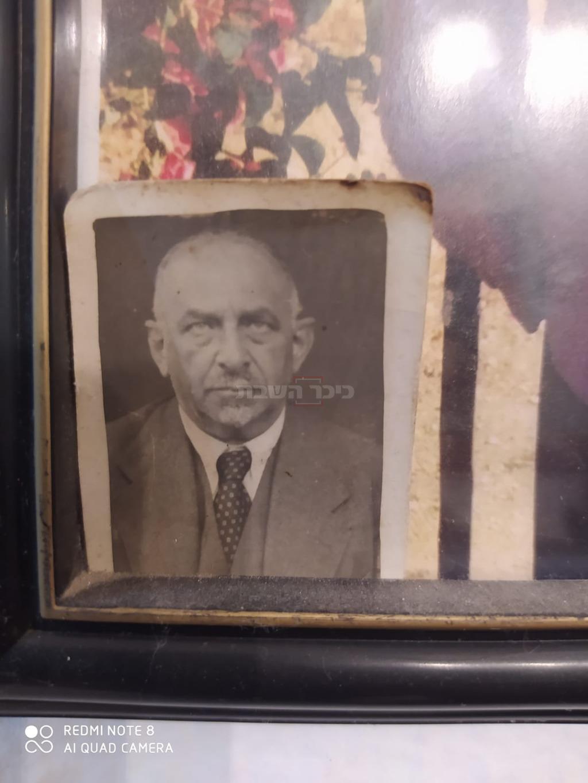 ר' יעקב אופנהיימר שהציל את התמונה מהנאצים (באדיבות יראת לוי (קלי))