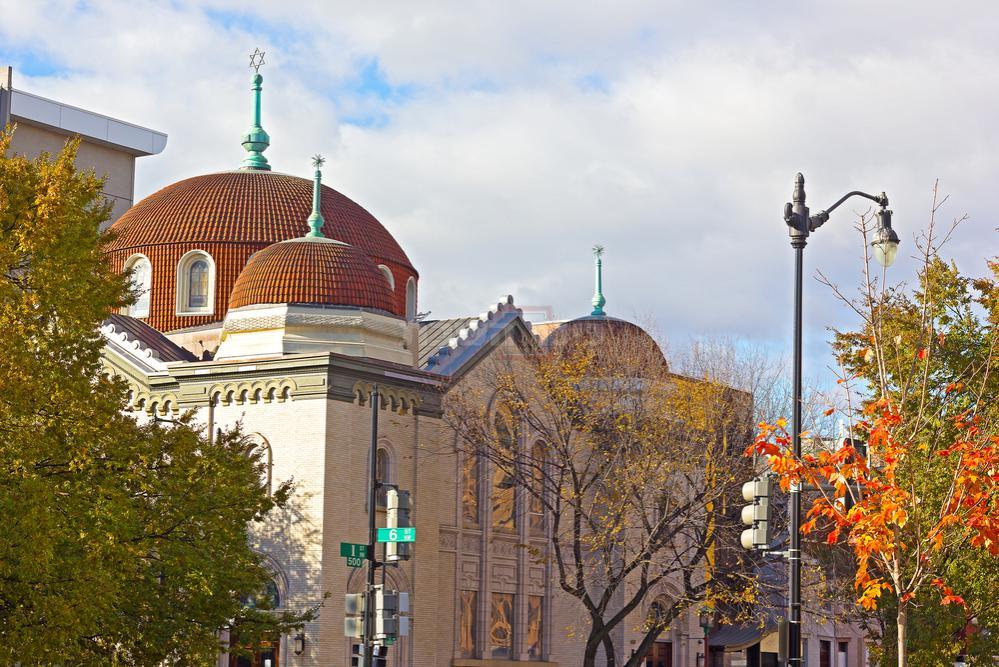 בית כנסת בוושינגטון (צילום: Shutterstock)