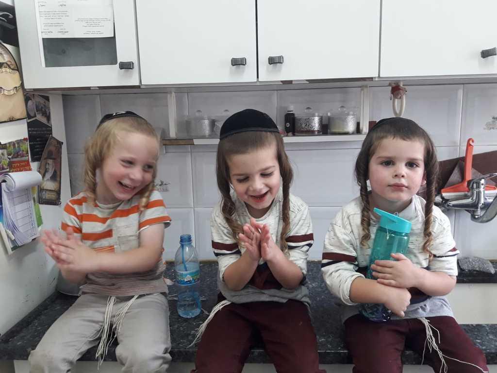 משפחת היימליך מתגוררת בירושלים ומגדלת משפחה ברוכת ילדים
