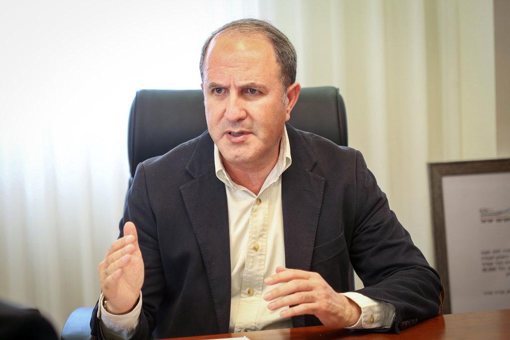 ראש העיר יחיאל לסרי (צילום: Yaakov Lederman/FLASH90)