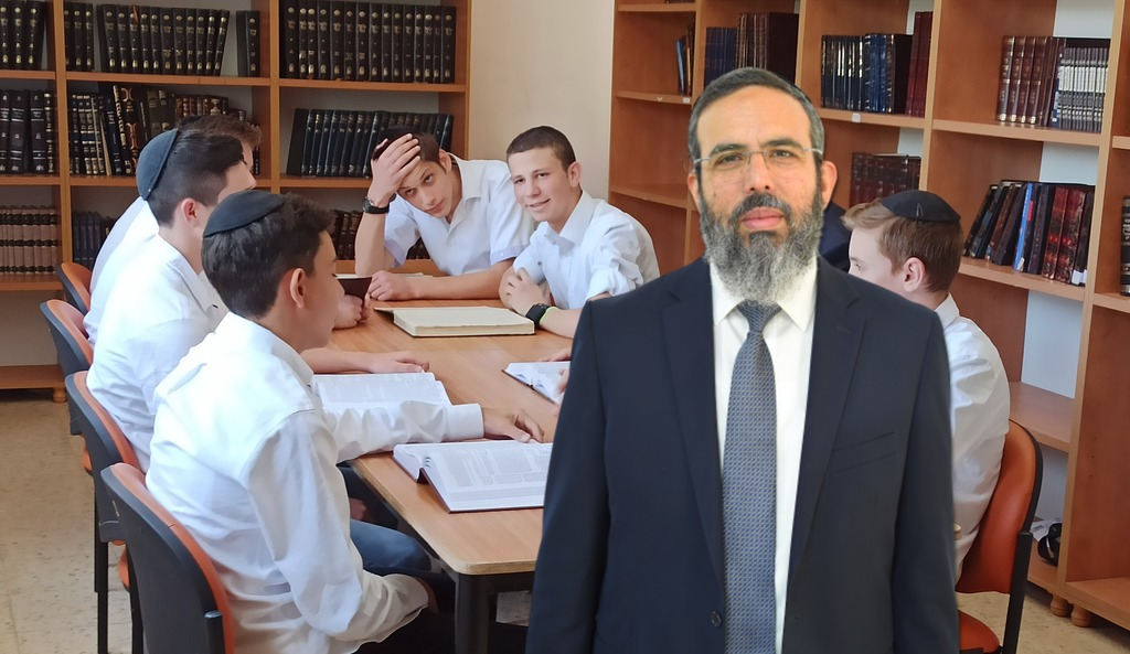 הרב יונה הוכמן חניך ישיבת חברון מונה כראש הישיבה החדשה (באדיבות המצלם)