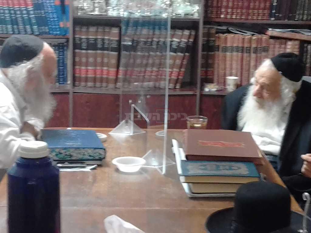רבני 'הפלג' בהתייעצות