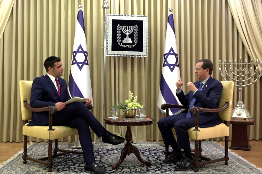 נשיא המדינה בריאיון לישי כהן