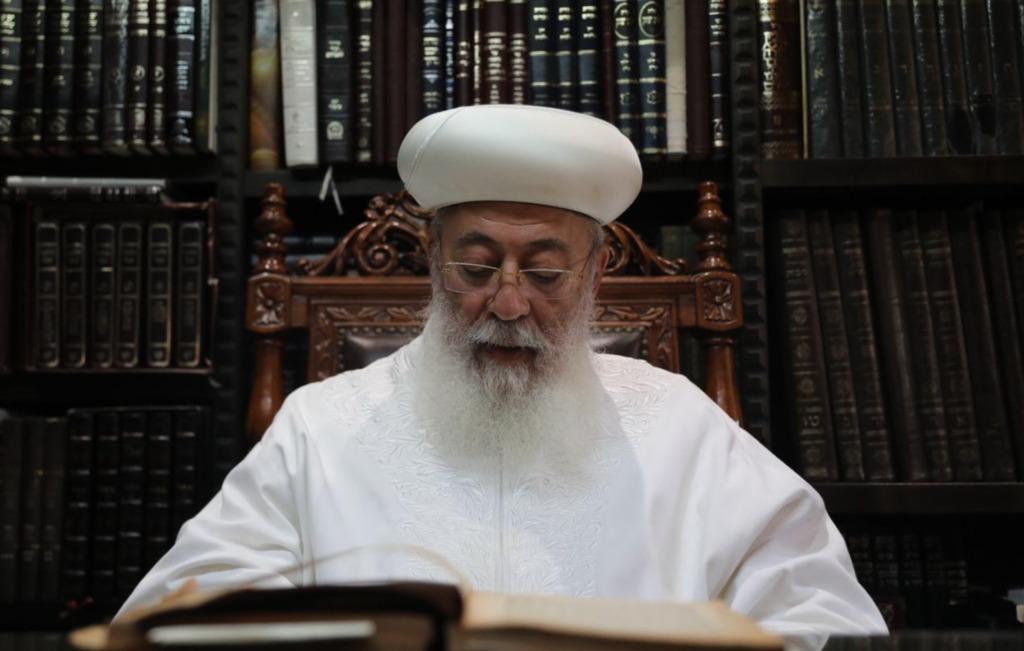 הראשל''צ הגר''ש עמאר בשיחה ל'כיכר השבת'