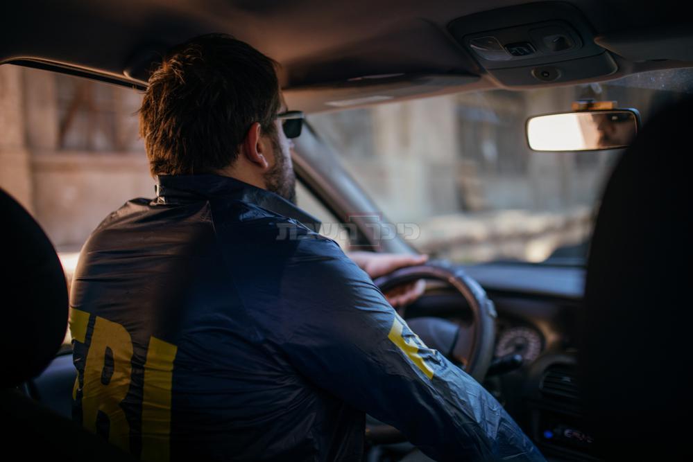 סוכן FBI ברכבו, ארכיון (צילום: Shutterstock)