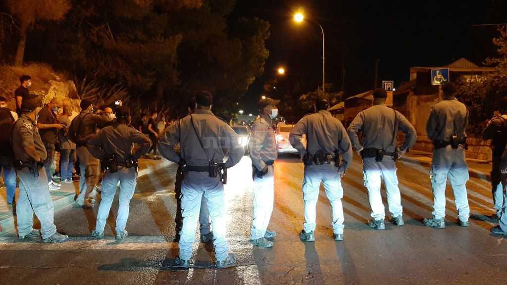 כוחות המשטרה במקום