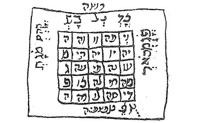 (צילום: מתוך כתב ידו של רבי חיים ויטאל זצוק