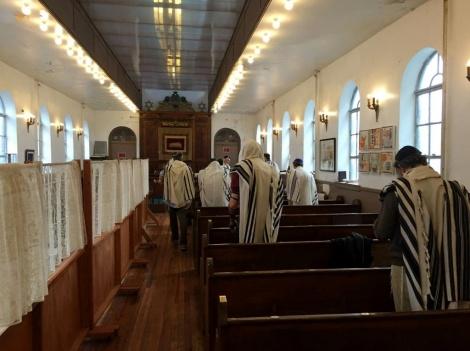 בית הכנסת של קהילת 'קול ישראל' (צילום: מתוך הפייסבוק Congregation Kol Israel)