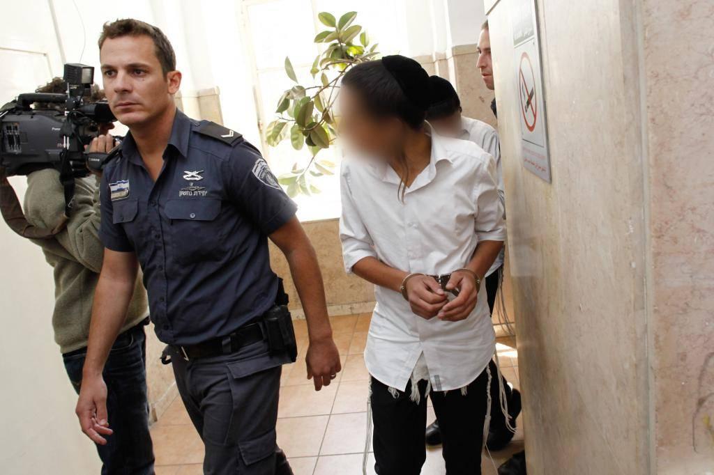הנערים שנעצרו (צילום: פלאש 90)