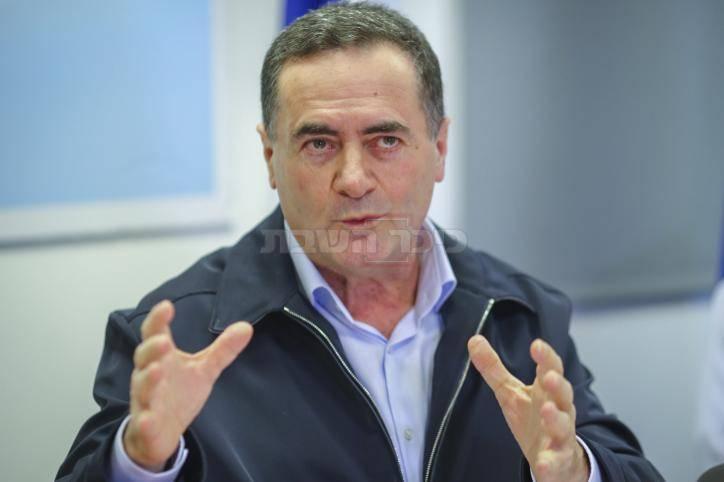 שר התחבורה ישראל כץ (צילום: Flash90)