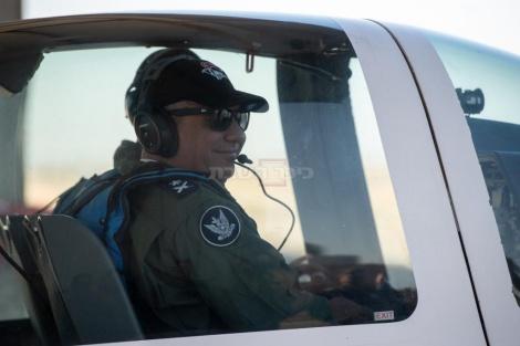 """הרמטכ""""ל בביקור בחיל האוויר"""