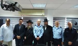 """מפקדי המשטרה הפגישו את רבני גור ורה""""ע"""