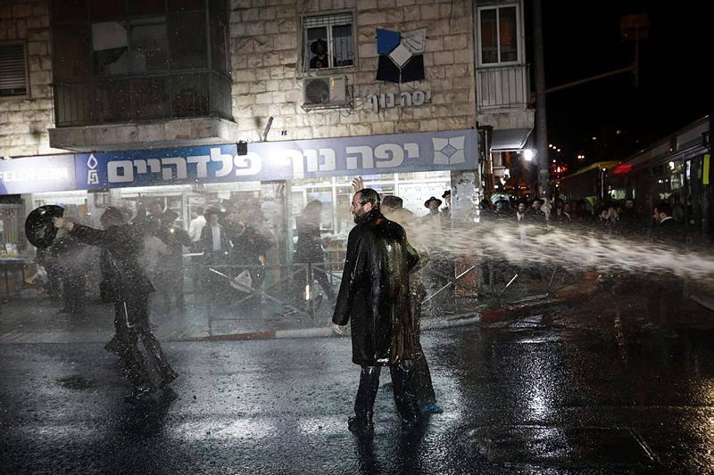 ההפגנה בירושלים (צילום: יונתן זינדל, פלאש 90)