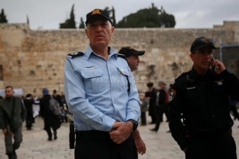 מפקד מחוז ירושלים (צילום: חיים גולדברג, כיכר השבת)