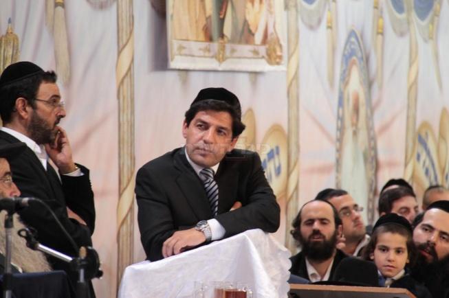 מארגן העצרת ר' מרדכי חסידים