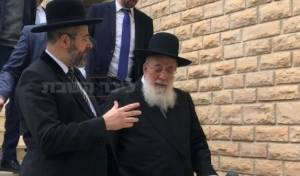 """גדולי הרבנים שותפים ומוסיפים חיים עם פוע""""ה • צפו"""