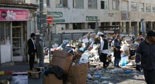 צפו: עובדי התברואה סיימו את השביתה