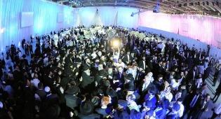 גלריה: החתונה החרדית הגדולה ברוסיה