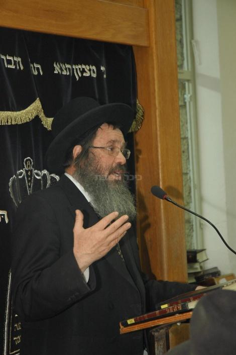 ראש ישיבת חברון הגאון רבי דוד כהן