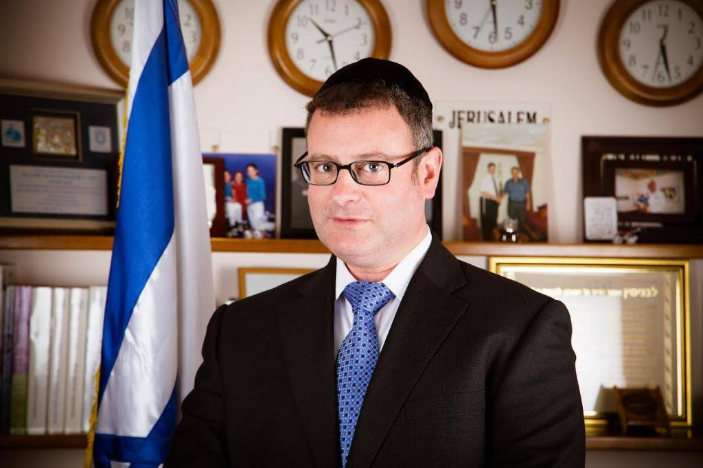 הרב בני פישר, ארכיון (צילום: יח