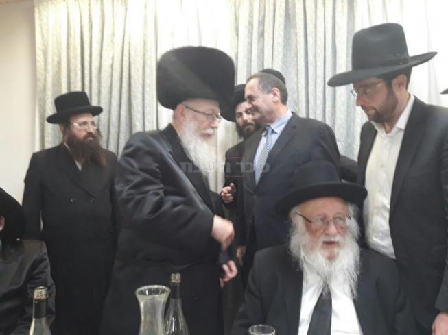 """הגרב""""ד פוברסקי, ישראל כץ וליצמן"""