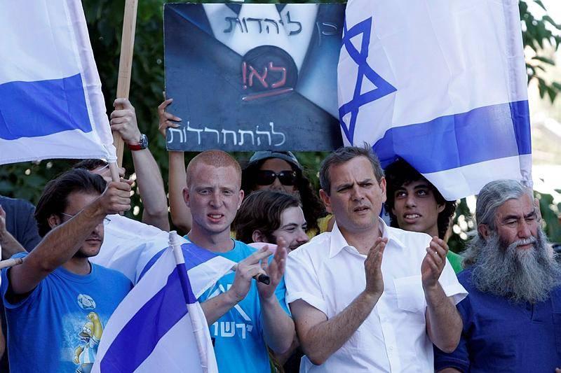 השמאל נתפס כאנטי חרדי. הפגנה נגד חרדים בירושלים, ארכיון (צילום: אביר סולטן, פלאש 90)