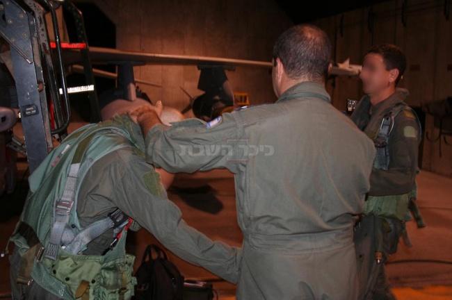 """טייסת 253 לפני תקיפת הכור הסורי (צילום: דובר צה""""ל)"""