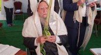 חג הסוכות במעונו של זקן הראשונים לציון