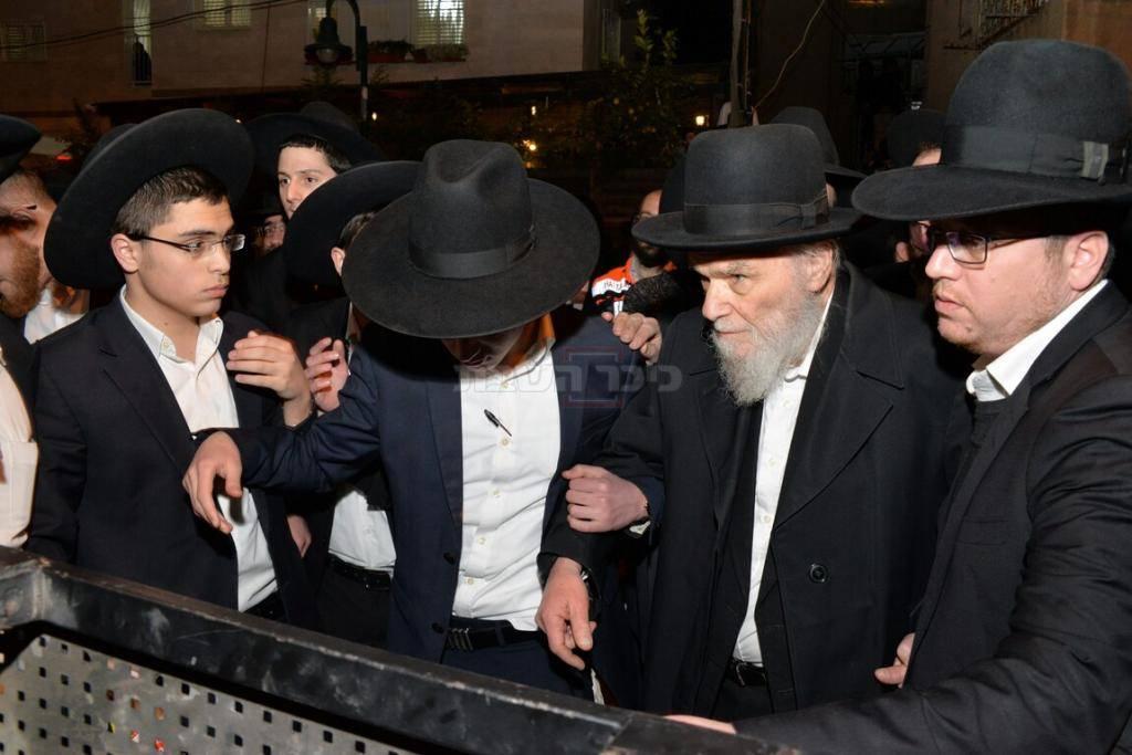 ראש ישיבת סלבודקה וחבר מועצת גדולי התורה הגאון רבי משה הלל הירש
