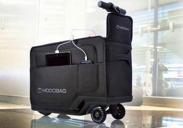 המזוודה הממונעת הראשונה בעולם