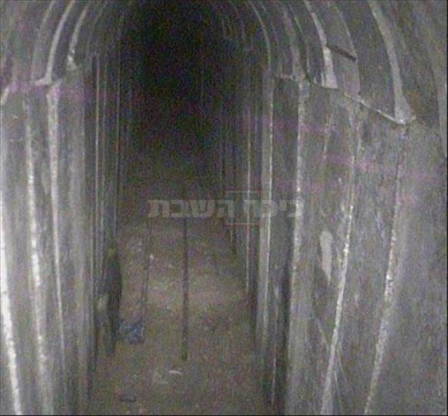 """המנהרה שנחשפה (צילום: דובר צה""""ל)"""