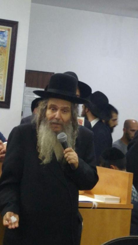 הרב שלום ארוש, ראש מוסדות חוט של חסד