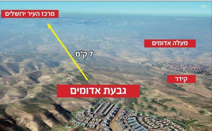 פרוייקט גבעת אדומים בעוטף ירושלים. צילום: יחצ