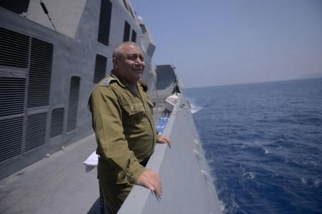 """הרמטכ""""ל בביקור בחיל הים"""