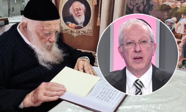 """הרב נויגרשל ומרן הגר""""ח קנייבסקי"""