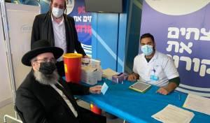 מחוז ירושלים והשפלה במכבי פתחו את מתחמי החיסונים נגד נגיף הקורונה