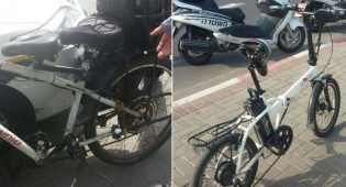 מבצע אכיפה נגד אופניים חשמליים