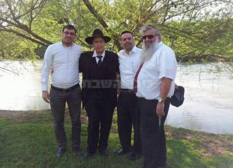 שמחיוף בנהר הירדן