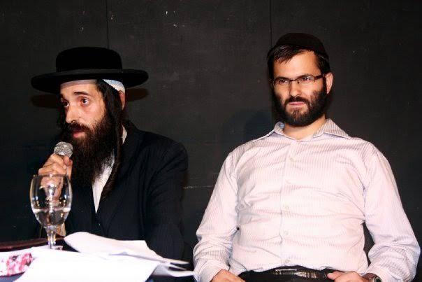 משמאל, יואליש קרויס, איש העדה חרדית (צילום: באדיבות המצלם)