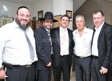 אוחיון, אבי בן ישראל, אוריאל בוסו ועמי מיימון בפתח תקווה. צילום: אילנה חג'ג'