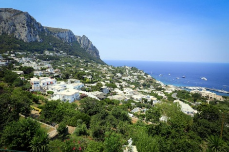 הנוף באי קאפרי, איטליה (צילום: שלומי כהן, פלאש 90)