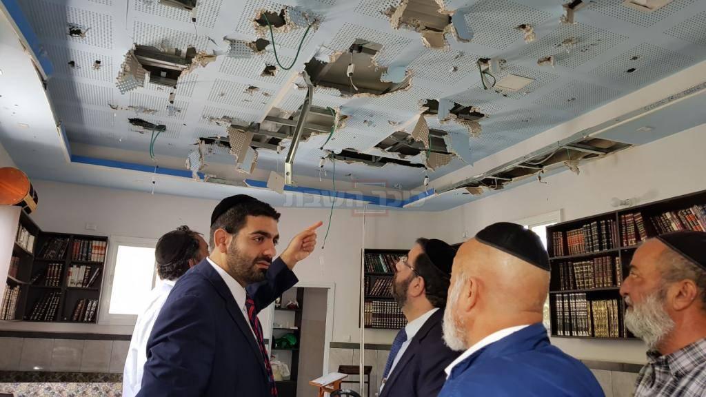 ח''כ מלכיאלי בבית הכנסת, הבוקר