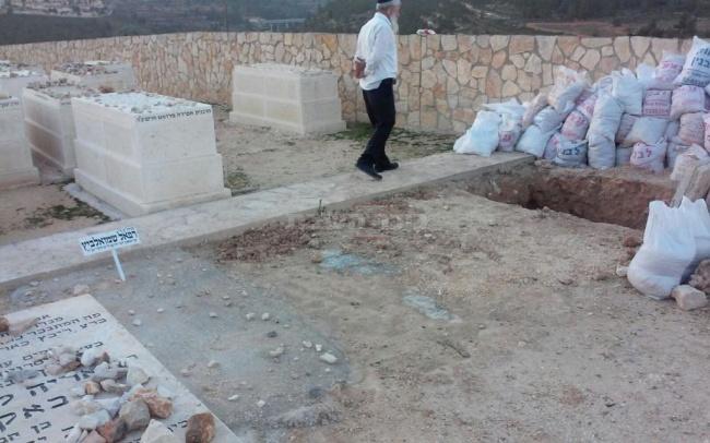 חלקת הקבר (באדיבות המצלם)