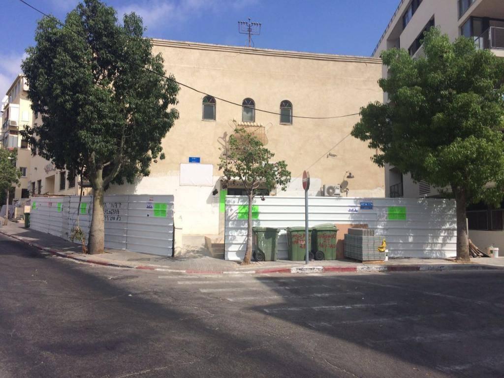 מבנה בית הכנסת (באדיבות המצלם)