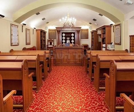 בית הכנסת במלון קינג דיויד